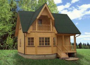 Как построить дом из бруса недорого?
