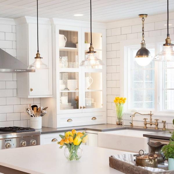 Как рационально использовать углы в кухне, 16 приемов + 100 фото