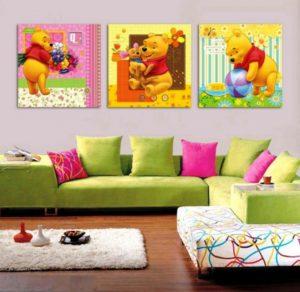 Как выбрать модульную картину в детскую комнату