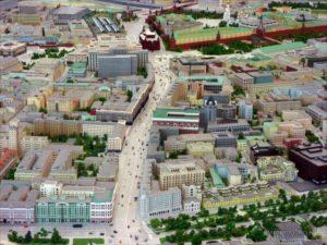 Строительство нового павильона для макета Москвы планируется завершить ко Дню города