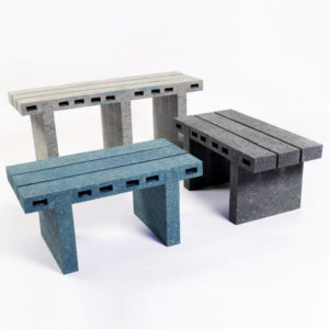 Дизайнер ВуДжэй Лии предложил использовать старые газеты в качестве мебели