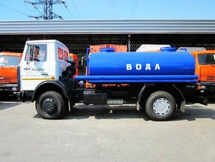 Доставка технической воды к строительным и промышленным объектам
