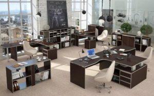 Как подобрать мебель в офис?