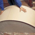 Как согнуть гипсокартон для арки?