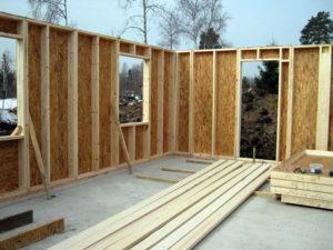 Как устроены стены в каркасно-щитовых домах