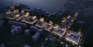 На Васильевском острове в Петербурге построят квартал бизнес-класса