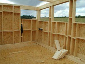 Недостатки деревянных каркасно-щитовых стен