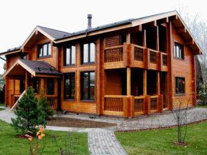 Особенности строительства домов из профилированного бруса