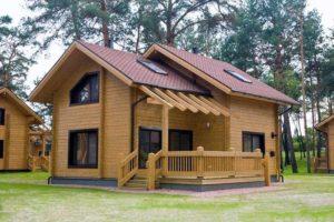 Почему так популярны деревянные дома из сруба?